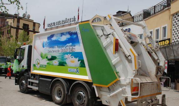 CNG'li Kamyonlar ile Çevreci Atık Toplama
