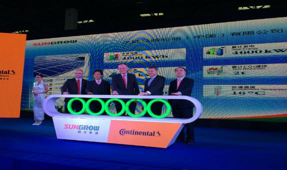 Continental Çin'deki Fabrikasında Güneş Enerjisinden Elektrik Üretecek