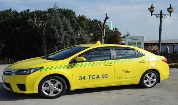 Elektrikli Taksi Yola Çıktı