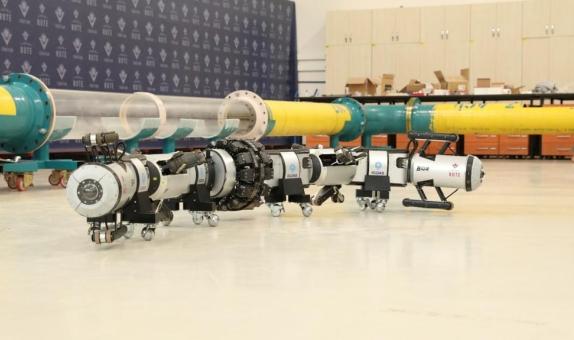 İGDAŞ'ın Ufuk Projesi, Yerli Üretim Robot