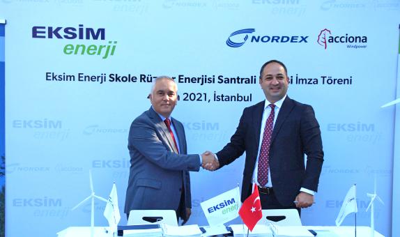 Eksim Enerji, Ukrayna'da Rüzgar Enerjisi Yatırımı için Nordex ile Anlaştı