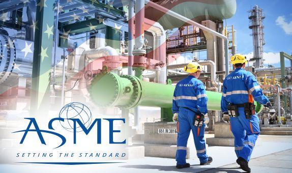 Ayvaz, ASME'den Sertifikasını Aldı