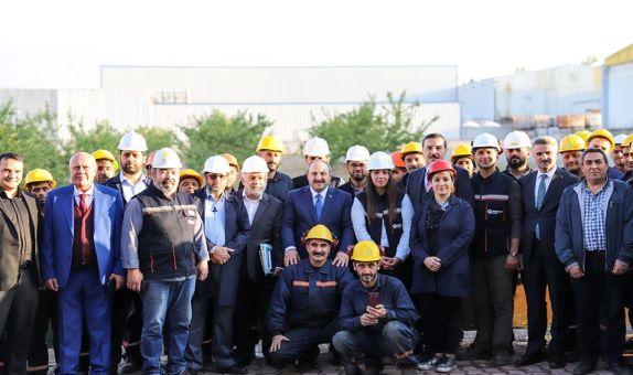 Bakan Mustafa Varank, MİMSAN'ın Fabrikasını Ziyaret Etti