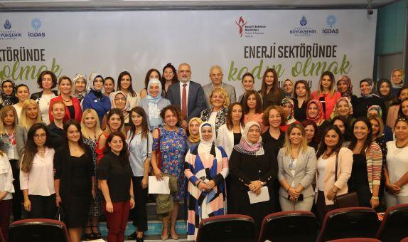 Enerji Sektöründe Kadın Olmak Sempozyumu Düzenlendi