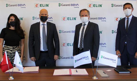 Garanti BBVA Leasing ve Elin Enerji İşbirliği Protokolü İmzaladı