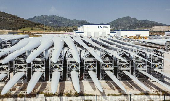 GE Yenilenebilir Enerji Bergama'da 500'üncü Kanadını Üretti