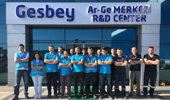 Gesbey Ar-Ge Merkezi Açıldı