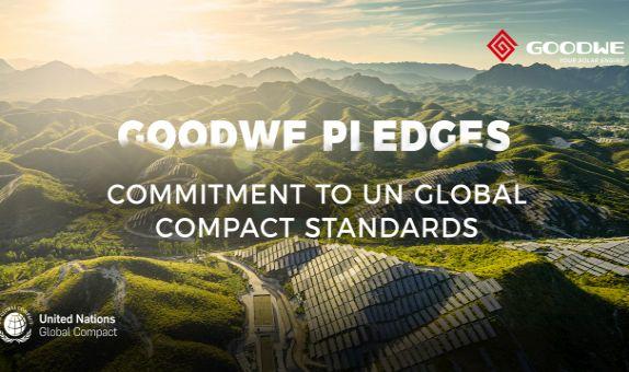 GoodWe, Birleşmiş Milletler Küresel İlkeler Sözleşmesi'ne Katıldı