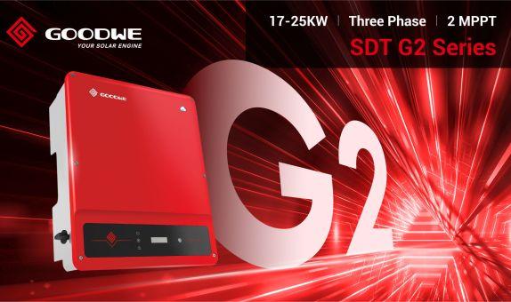 GoodWe SDT G2 Serisi İnvertörlerini Piyasaya Sürdü