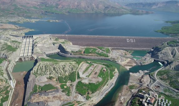 Ilısu Barajında Enerji Üretimi Test Süreci Başladı