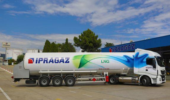 İpragaz'ın Filosuna Kattığı İlk LNG'li Çekicisi Türkiye Yollarında