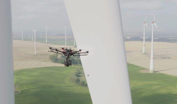 Rüzgar Türbinlerinin Bakımları Drone ile Yapılıyor