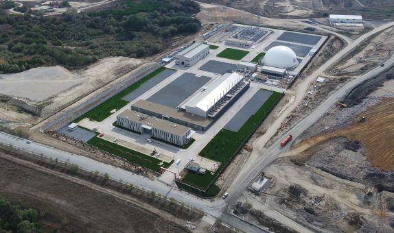 Seymen Çöp Gazı Enerji Üretim Tesisi'nin Açılışı Yapıldı