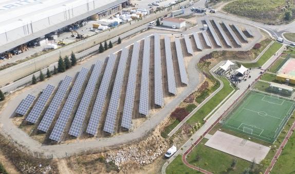 Siemens Türkiye, Üretim Üssüne Güneş Enerjisi Tesisi Kurdu