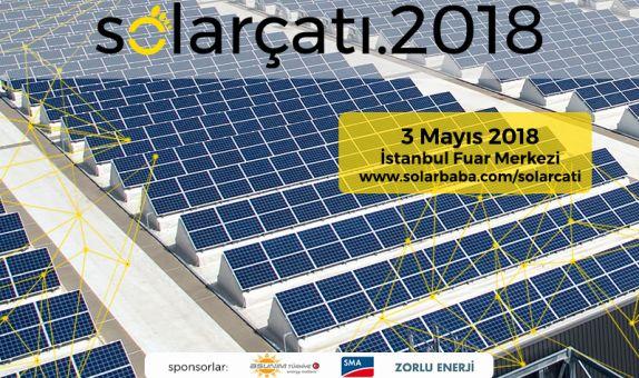 Solarçatı 2018 Etkinliği 3 Mayıs'ta ICCI 2018'de