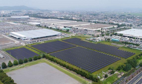 Subaru'dan Japonya'nın En Büyük Güneş Enerjisi Santrali