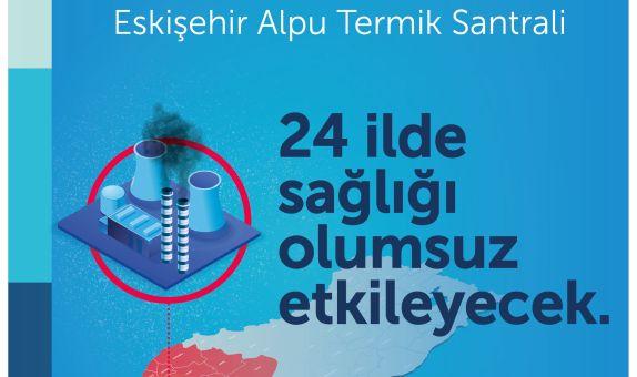 Temiz Hava Hakkı Platformu'ndan Eskişehir için Termik Santral Uyarısı