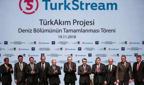 TürkAkım Doğalgaz Boru Hattı Açık Deniz Kesimi Tamamlandı