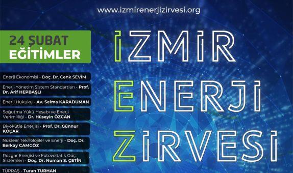 İzmir Enerji Zirvesi'19, 23-24 Şubat Tarihlerinde Düzenlenecek
