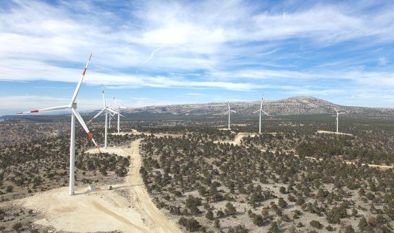 Akfen Yenilenebilir Enerji'nin Üçpınar RES Projesi Üretime Başladı