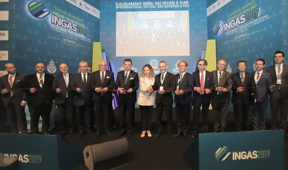 Dünya Doğalgaz Sektörü İstanbul'da Buluştu