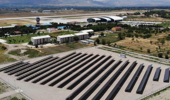 Erzincan Havalimanı Enerjisini Güneşten Alacak