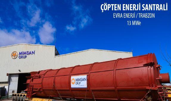 Trabzon Biyokütle Enerji Santrali Faaliyete Geçiyor