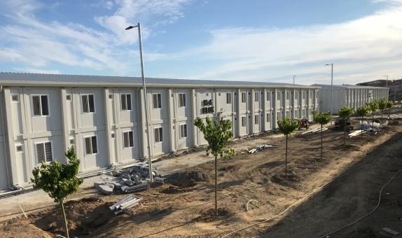 Sancaktepe'deki Dev Pandemi Hastanesine Viko Kalitesi