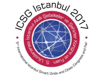 ICSG Istanbul 2017 | 5. Uluslararası İstanbul Akıllı Şebekeler ve Şehirler Kongre ve Fuarı | 19-20-21 Nisan 2017 - İstabul Kongre Merkezi