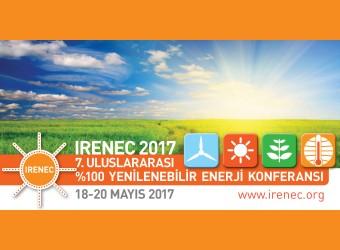 IRENEC2017 |7.Uluslararası %100 Yenilenebilir Enerji Konferansı |18-20 Mayıs 2016