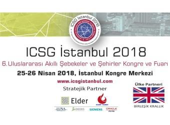 ICSG İstanbul 2018 | 6. Uluslararası Akıllı Şebekeler ve Şehirler Kongre ve Fuarı